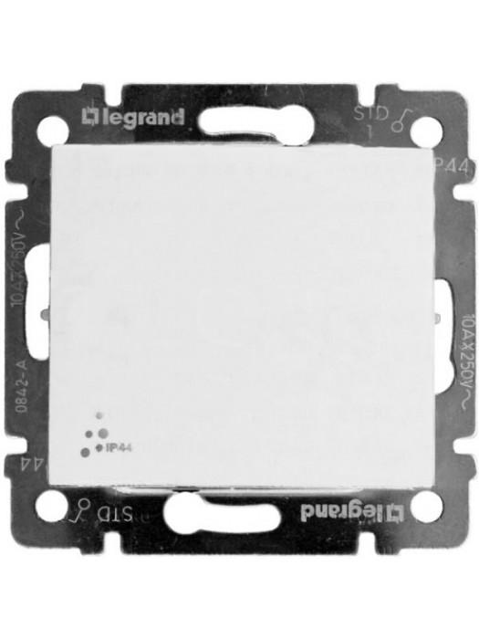 Выключатель кнопочный с влагозащитой IP44 Valena (Legrand 770099)