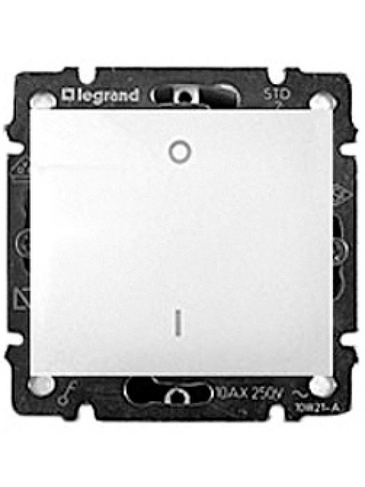 Выключатель двухполюсной с влагозащитой IP44 Valena (Legrand 770092)