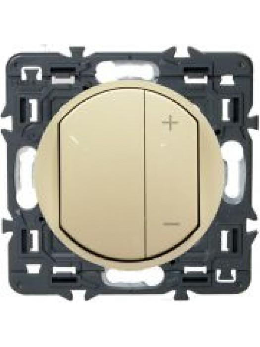 Регулятор света универсальный 300Вт Celiane (Legrand 67085+66250)